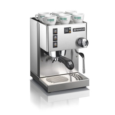 Rancilio Miss Silvia 1 Grp V5 Pump Coffee Machine E Version Stainless Steel