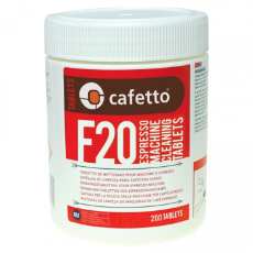 Cafetto F20 Tablets 200 Pieces Franke EGRO Cimbali Faema Astoria