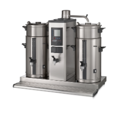 Bravilor B20 HW 400V 2 x 20L Bulk Brewing System With Hot Water Tap