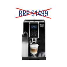 Delonghi Dinamica Black Factory Second Automatic Coffee Machine